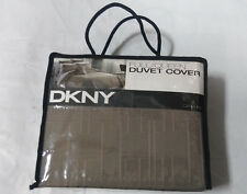 DKNY City Line Duvet Cover Taupe-Full/Queen