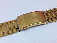 Rado Gold Plated Strap Wristwatch Bands