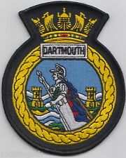 BRNC Dartmouth Britannia Royal Naval College - OFFICIAL Embroidered Patch Badge