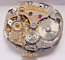 Antique Lds Le Coultre Watch Movement  17 jewels. 15 x 12 mm #K 840.#1937185.
