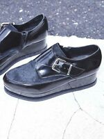 Free People St Marks Platform Shoe by Jeffrey Campbell Leather Size 8.5 $180