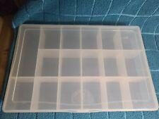 Plastic organizer container storage box