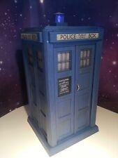 "4th Doctor Who TARDIS Electronic Flashing Light 8"" Classic Figure Custom Model"