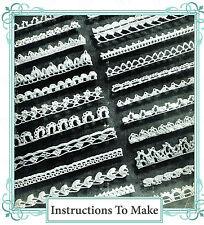 VINTAGE VISAGE Crochet pattern-how per rendere 23 piuttosto ristretto all' Uncinetto Pizzo Bordatura
