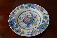 Mason's rimmed bowl strathmore pattern 8.5 ins diameter