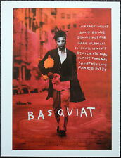 BASQUIAT 1996 FILM MOVIE POSTER PAGE . DAVID BOWIE ANDY WARHOL . N18