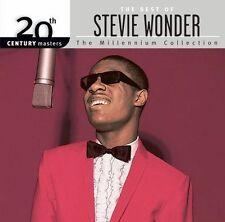 "Stevie Wonder ""The Best Of Stevie Wonder: The Millenium Collection"" CD. NEW"
