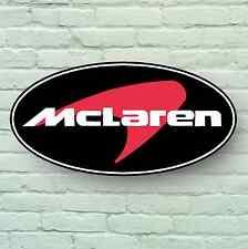 MCLAREN BADGE LOGO 2FT LARGE GARAGE SIGN WALL PLAQUE CAR F1 WORKSHOP MECHANIC