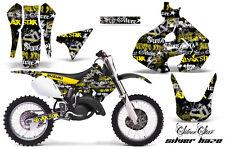 Suzuki RM 125 Graphics Kit AMR Racing Bike Decal RM125 Sticker Part 99-00 SHAZE