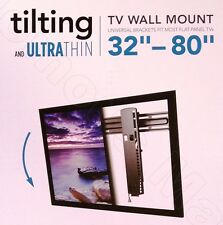 "Sanus Simplicity 32""–80"" SXDP5 Ultra-Thin Tilting TV Wall Mount Fit 37"" 40"" 60"""