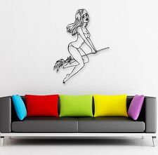 Wall Stickers Vinyl Decal Hot Sexy Girls Pin Up Lingerie Witch (ig825)