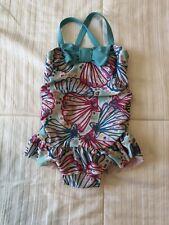 Baby Girl Girls One Piece - Swimsuit Size 6-12 Months - Butterfly Ruffle Butt