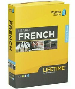 Rosetta Stone: Learn French with Lifetime Access [OPEN BOX] Complete Course