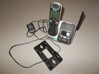 Telephone message recorder AT&T DECT 6.0 cordless land line pre owned works
