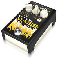 TC Helicon Critical Mass Vocal Sing Along Gang Style Effects Pedal Stomp Box