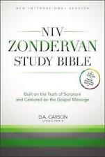 NIV Zondervan Study Bible Hardback edited by Carson Christian Christmas gift