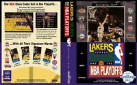 -Lakers versus Celtics and the NBA Playoff Replacement Box Art Insert Cover Only