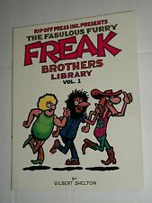 Rip Off Press FABULOUS FREAK BROTHERS LIBRARY Volume 1 TPB Trade Paperback