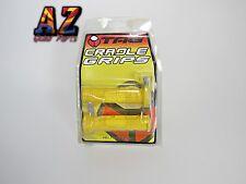 Tag ATV Handlebar Grips Yellow Yamaha Raptor 125 250 350 660 700 Grizzly 660 700