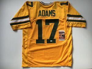 Davante Adams Autographed Jersey JSA Signed COA Green Bay Packers Football NFL