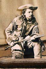 "Buffalo Bill Cody Western Photo Standee Photo Sepia  10 1/2"" Tall"