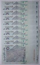 """(PL) RM 1 ZM 3684701-10 UNC 10 PCS ZETI """"Z"""" SERIES PAPER NOTE"""