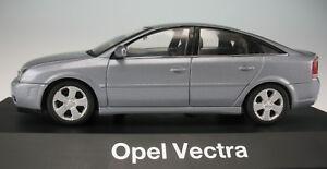SCHUCO - OPEL Vectra GTS - silber-grau metallic - 1:43 - NEU in OVP - Modellauto
