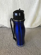 Stainless Steel Blue Water Filter Bottle-NEW