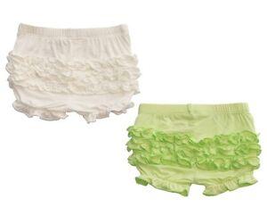 Silkberry Baby Bamboo Ruffle Shorts