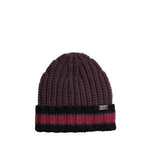 Coach Men's Varsity Stripe Knit Beanie Hat