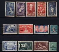 AF142256/ FRANCE – YEARS 1927 - 1938 MINT MNH SEMI MODERN LOT – CV 130 $