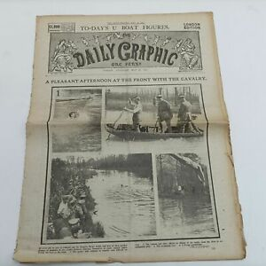 The Daily Graphic Newspaper May 24th, 1917. London Edition [Fair] First World...