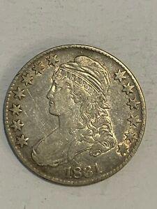 1831 Capped Bust Half Dollar