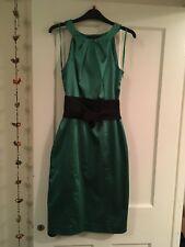 Gorgeous Coast Emerald Green Wiggle Pencil Dress - Size 10.