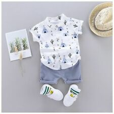 Baby Suit Summer Fashion Kids Baby Clothing Set For Boys Cute Casual Clothes Set