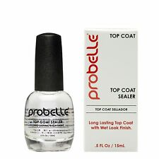 Probelle Top Coat Sealer| Top Coat |0.5 Fl Oz/15mL