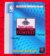 Official 2015 NBA All Star Game Foot Locker Three Point Contest small patch