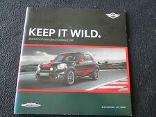 2011 MINI Cooper & S Countryman JCW Accessory Brochure Aero Catalog Wheels BMW
