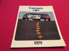 1979 Chevrolet Camaro sales brochure