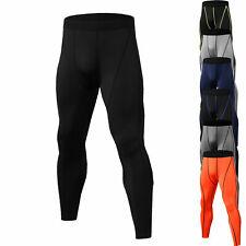 Men Compression Pants Long Gym Running Basketball Training Dry Tights Bottom