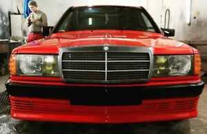 MERCEDES BENZ W201 BBS front bumper