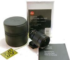 Leica Viewfinder 21-24-28mm Finder Black 12013, boxed MINT #37931