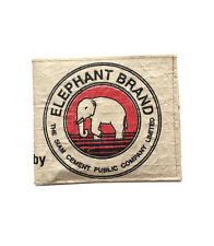 Elephant Brand Recycled Man's Fold out wallet made from Cement Bags