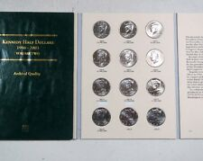 **1986-2003 > KENNEDY HALF DOLLAR COIN COLLECTIONS, Complete 36 Coins P/D MINTS
