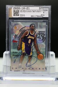 1997 STADIUM CLUB CO-SIGNERS KOBE BRYANT & JOE SMITH AUTO BGS 7.5 #CO11 [SK]