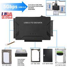 "USB 3.0 To IDE/SATA Converter Hard Drive Adapter For 2.5""/3.5"" SATA/IDE HDD"