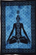 Seven Chakra Buddha Small Poster Tapestry Hippie Textile Home Decor Wall Art