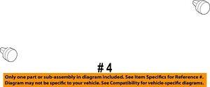 FORD OEM Front Door-Door Trim Panel Retainer Clip W711521S300