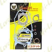 KAWASAKI KE125 FULL ENGINE GASKET SET 1976 - 1985
