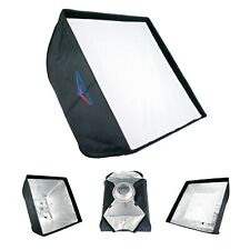 "24"" Square Softbox Quick Fold with Bowens Mount Photo Studio Flash Foldable"